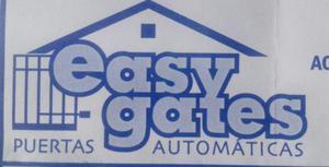 EASY GATES(PUERTAS AUTOMATICAS)