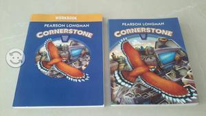Libros Ingles CORNERSTONE c/Workbook edit. Pearson