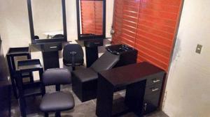 Set de muebles para estetica posot class for Muebles de estetica