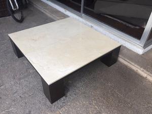 Mesa para sala de Mármol y madera
