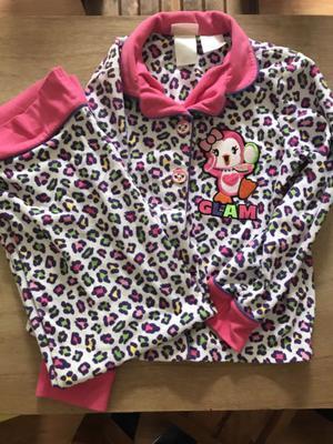 Pijamas niña 5 piezas
