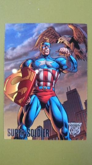 Tarjetas Amalgam DC Comics y Marvel