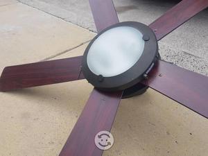 Lampara ventilador de princesas posot class - Lamparas de techo con ventilador ...