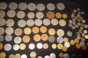 lote de monedas antiguas mexicanas