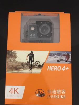 Action camera Hero 4+ (Cámara deportiva) 4K