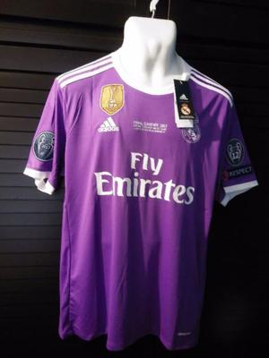 Jersey Real Madrid  Morada Final Cardiff 12 Champions