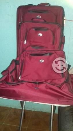 Juego de 4 maletas american