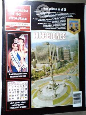 Lote de 7 revistas de revistas de excelsior