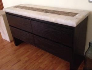 Mueble de pino con puertas y repizas posot class - Buffet para comedor ...