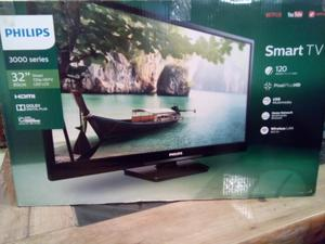 "Pantalla Philips 32"" smart tv"