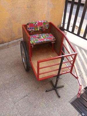 Remolque de bici para pasear niño/a