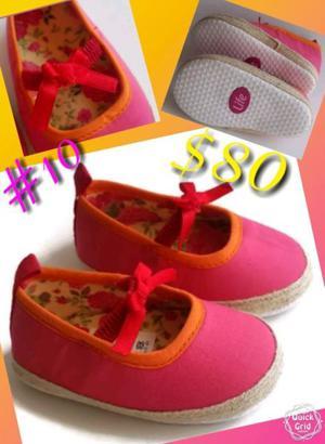 Zapatos de bebé suela blanda nuevos