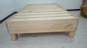 Base cama individual
