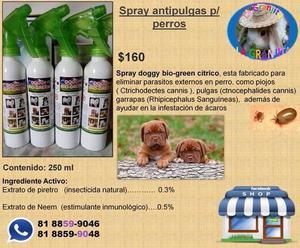 ¨ Criadero la Granjita¨ Spray anti pulgas y garrapatas p/