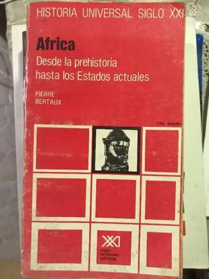 ÁFRICA DESDE LA PREHISTORIA HASTA LOS ESTADOS ACTUALES
