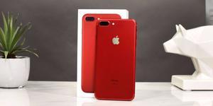 Iphone 7 Plus Red+ 128 Gb, nuevo con caja y accesorios