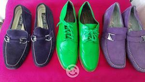 Lote de zapatos p/caballero del num 5