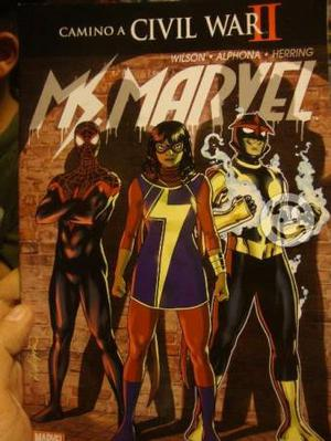 Marvel Comics Mis Marvel 7 Comics