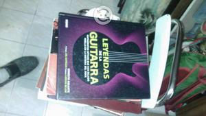 Libro leyendas de la guitarra