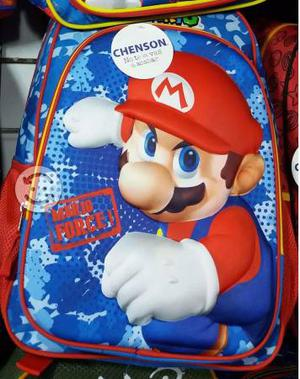 Mochila Chenson Original 3D Mario Bros