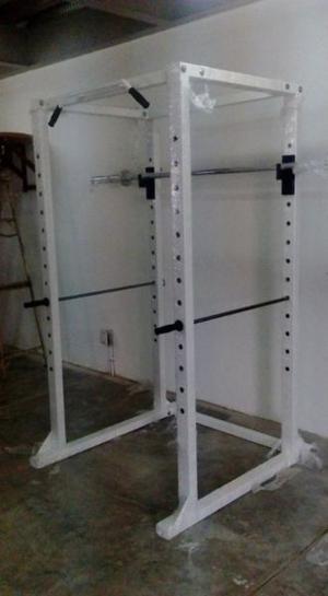 Rack De Potencia Poder Gimnasio Cracken Gym