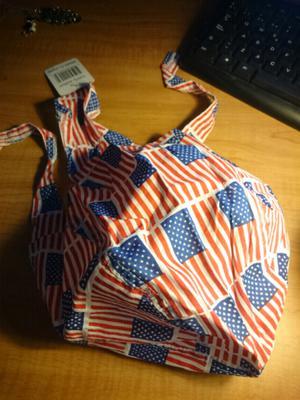 Bandana Bandera USA Importada Algodon