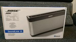 Bocina Bose Soundlink III Bluetooth