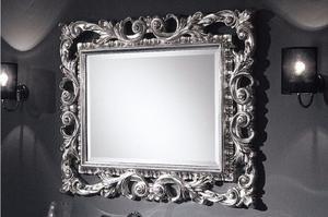 Rosetones y espejos en madera tallada a mano posot class for Espejos con marco de madera