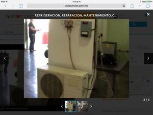 Refrigeracion, climas aire acondicionado, reparación