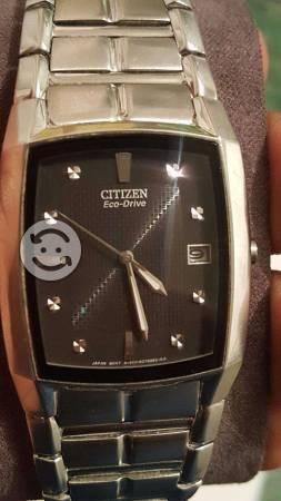 Reloj citizen ecodrive con br seminuevo en estuche