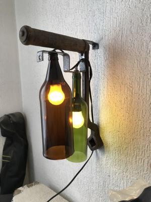 4 lámparas vintage Manijas antiguas cada una $950 pesos