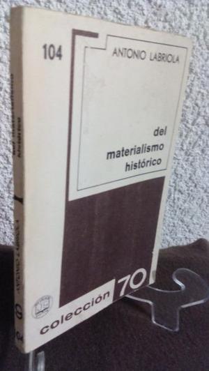 Del Materialismo Historico Antonio Labriola