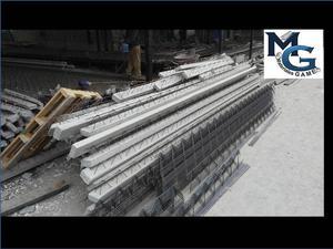 Vigueta, Bovedilla y materiales de Construccion