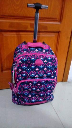 kipling mochila de carrito super bonita y duradera