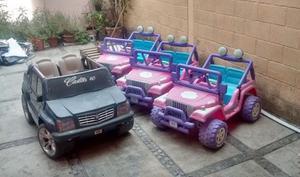 Carros eléctrico para niños- EXCELENTE PRECIO-