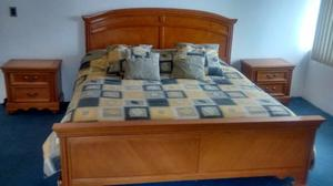 Recamara para cama king size