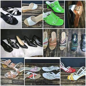 18 pares de zapatos nuevos en caja varios número y estilos