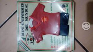 Mini uniformes del mundial mexico 86