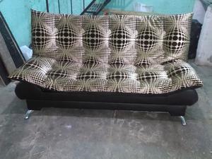 Sofa cama 3 posiciones en tactopiel modelo la paz posot for Cama reclinable
