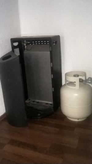 Calefactor con GRATIS tanque del gas
