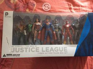 Liga de la justicia set 7