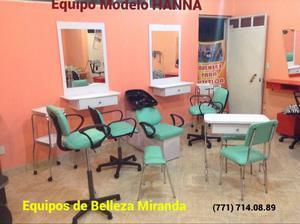Muebles para Belleza, Estética y Barbería