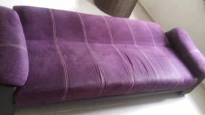 Sofa cama de madera solida muy bien cuidado posot class for Sofa cama sin somier