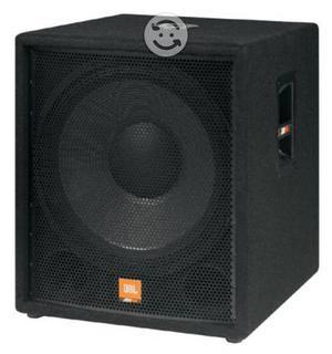 Subwoofer amplificado de la marca JBL Modelo JRX