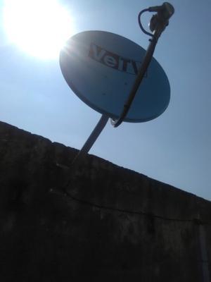 Vetv y sky y dish baratas son puras antenas solas
