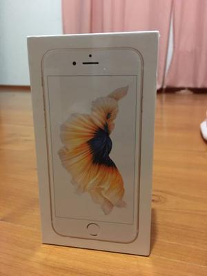 iPhone 6s 128GB color dorado nuevo en caja sellada