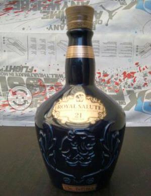 Botellas licoreras vacias de colección
