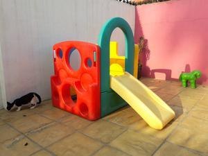 Casa Resbaladilla Muro Escalar Step 2 para Niños