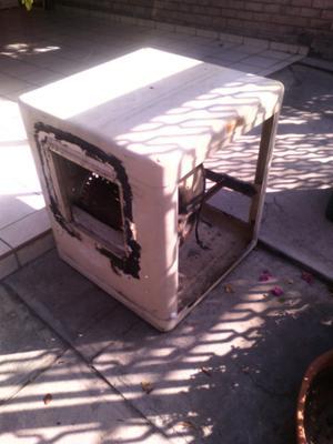 Estructura aire lavado R.40 para ducto sin óxido