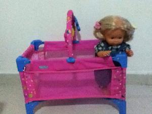 Cuna para muñeca Little mommy